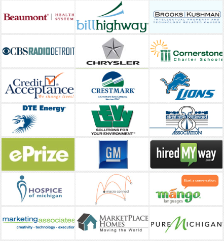 Companies Supporting Challenge Detroit in 2013-14