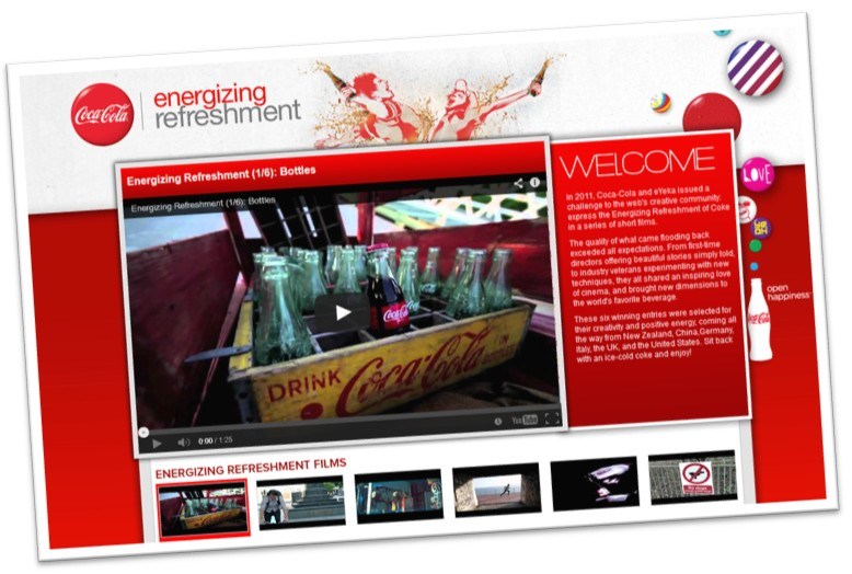 coca-cola energizing refreshment
