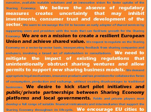 Collaborative Economy in Belgium Needs a Regulatory Boost