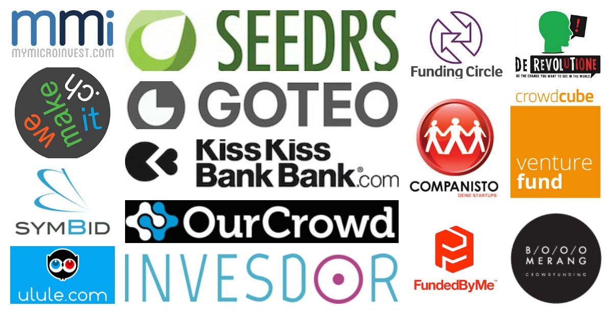 Crowdfunding platforms list