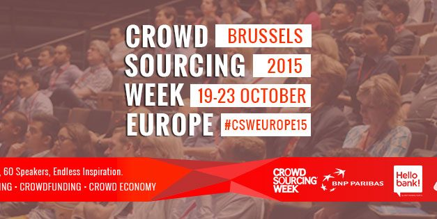 Crowdsourcing Week Europe 2015 to Gather Businesses, Innovators and Government Decision-Makers on Crowd Economy