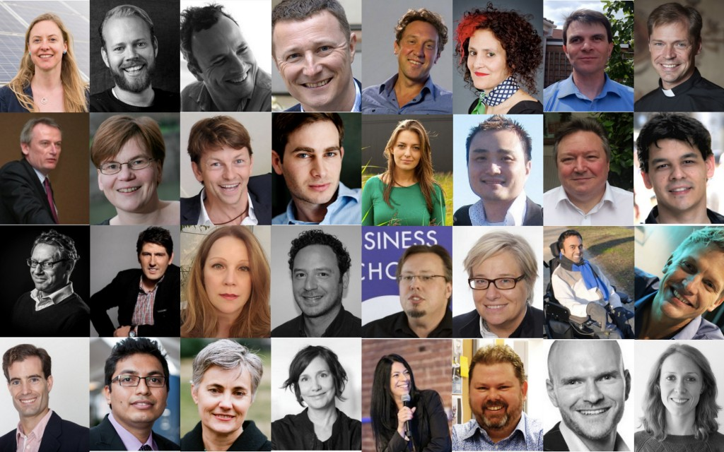Global Week 2016 Speakers Collage