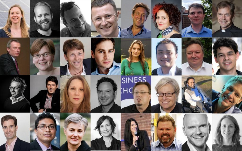 Global Week 2016 Speakers Collage