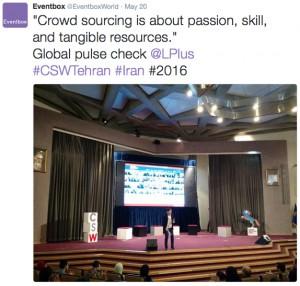 Epi Ludvik Nekaj, CSW Summit Tehran Recap
