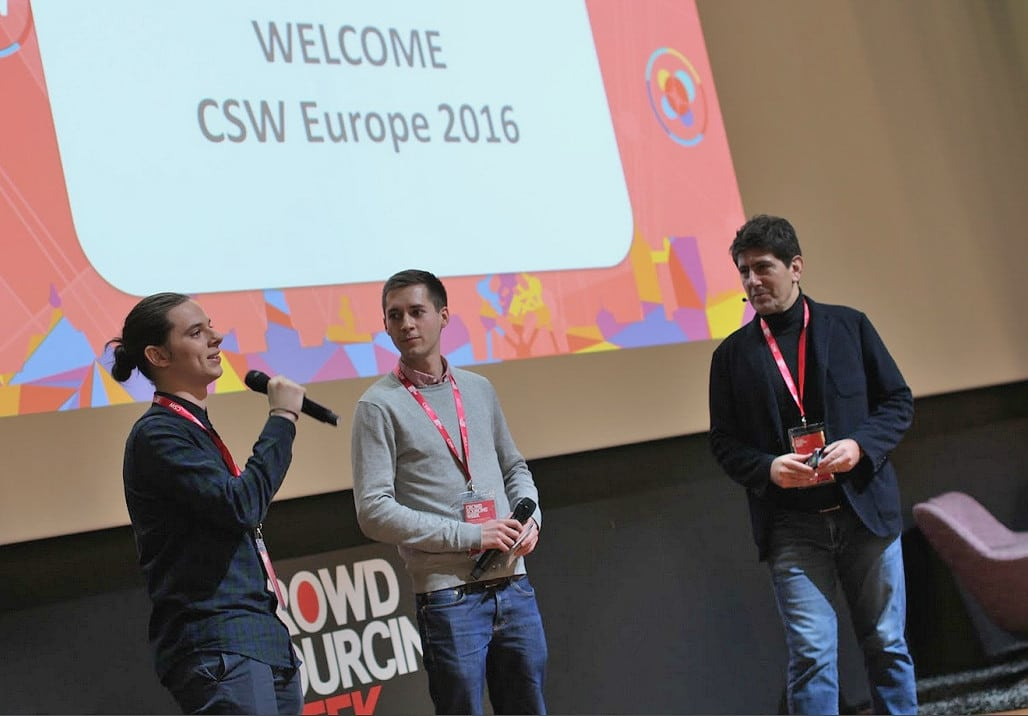 Crowdsourcing Young Achievers Take the Stage at CSW Europe 2016