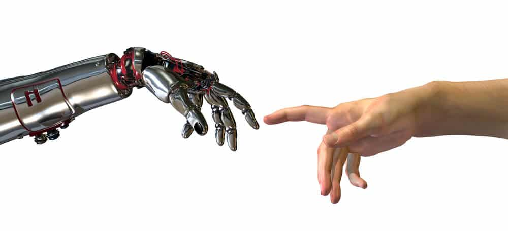robot-and-human-hands-touching