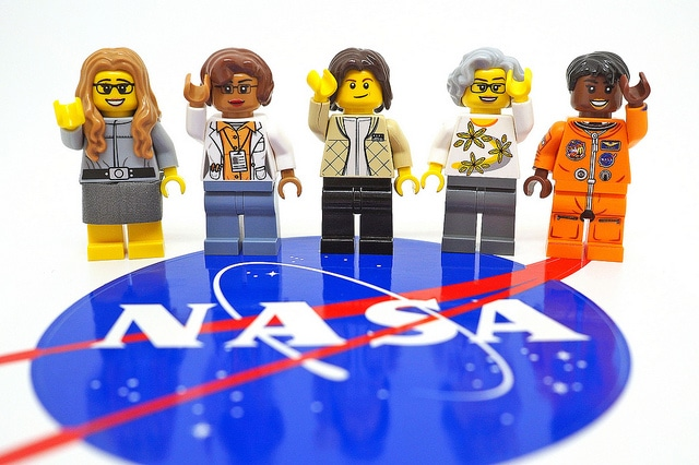 Woman of NASA creator to inspire new generation with LEGO toys