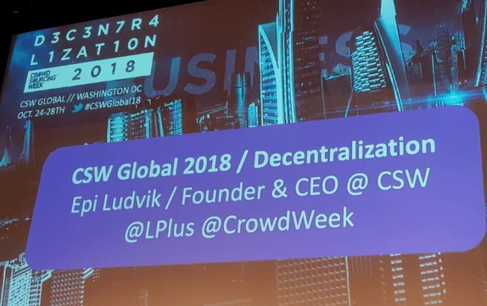 Business and Innovation themes rang through at CSW Global 2018