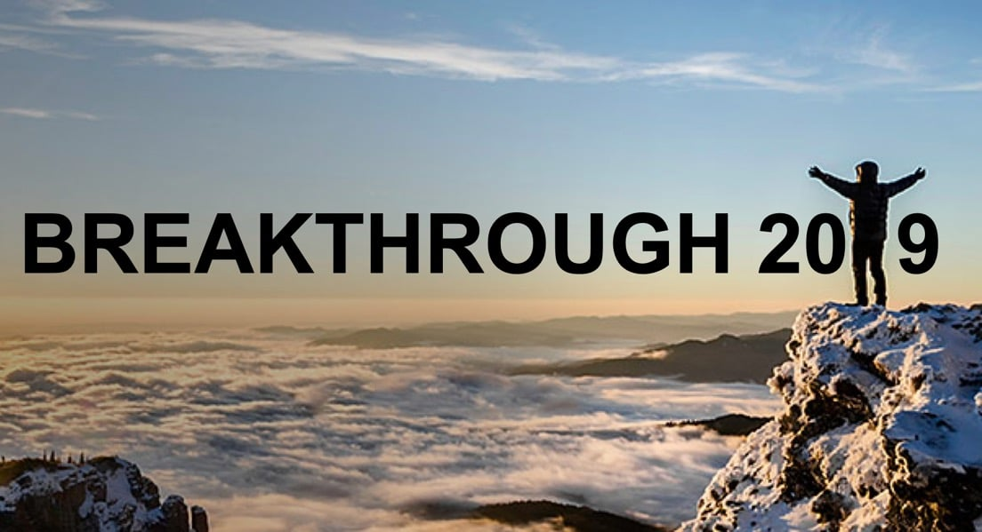 """""""In order to have a breakthrough, you have to break something"""""""