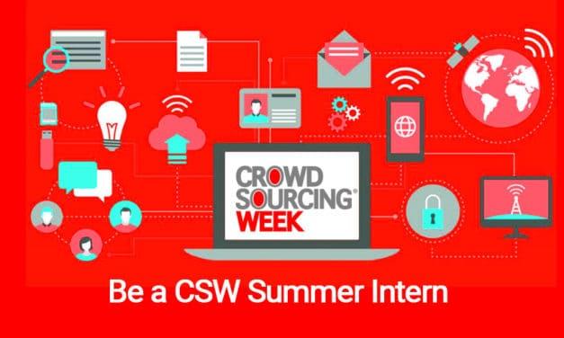 Summer Internship at Crowdsourcing Week 2019
