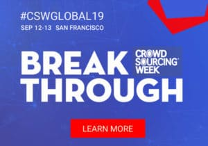 Crowdsourcing Break Through CSW Global 2019
